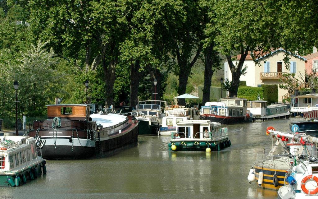 Canal du Midi à proximité du camping