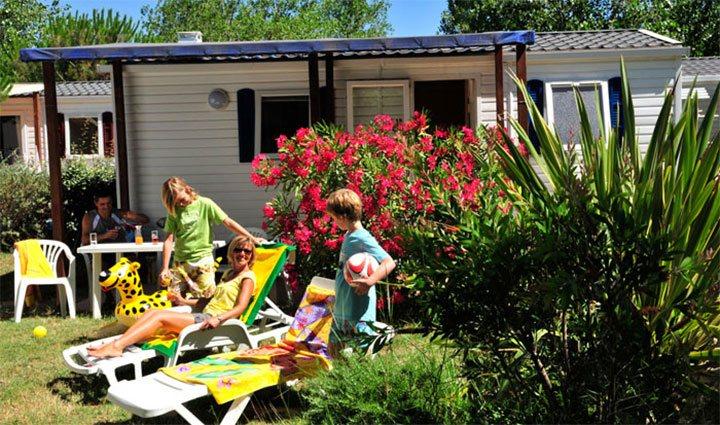 location Mobil-home 6 pers. en camping à Vias-Plage